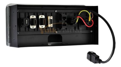 multicontacto para escritorio y/o mesas de salas de junta