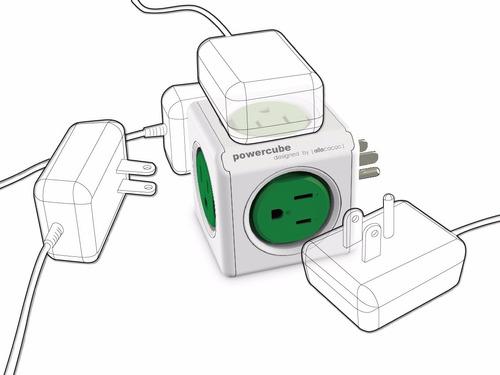 multicontactos y supresor de picos powercube original 4100