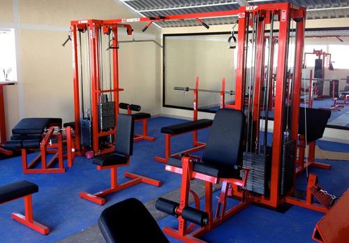 multiestacion de 8 marca: guerra fitness equipment
