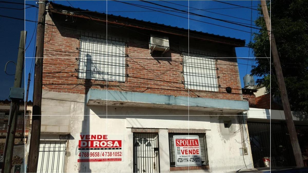 multifamiliar 2 viviendas de 3 amb - villa ballester