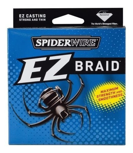 multifilamento spiderwire ez braid 15 lb 300 yd