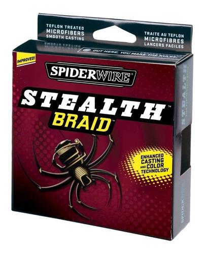 multifilamento spiderwire stealth braid 40 lb 500 yd