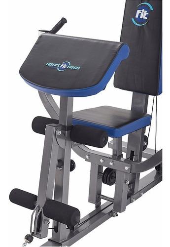 multifuerza 150 lbs multi ejercicios sportfitness gimnasio