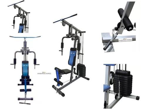 multifuerzas maquina gym multifuncional 16 ejercicios 100 lb