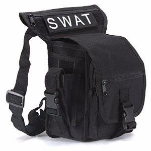 multifunción bolsa de cintura  calidad color negro importado