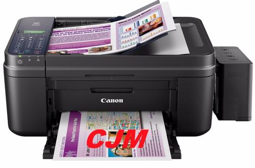multifuncion canon e481 wifi-sistema tinta continua de lujo