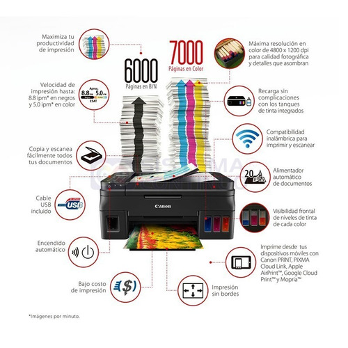 multifuncion canon impresora