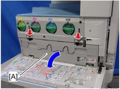 multifuncional a3 laser color ricoh mp c2550 seminova