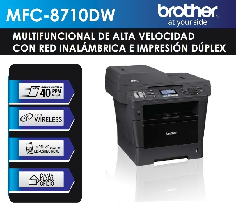 BROTHER PRINTER 8710DW DRIVER FOR WINDOWS 10