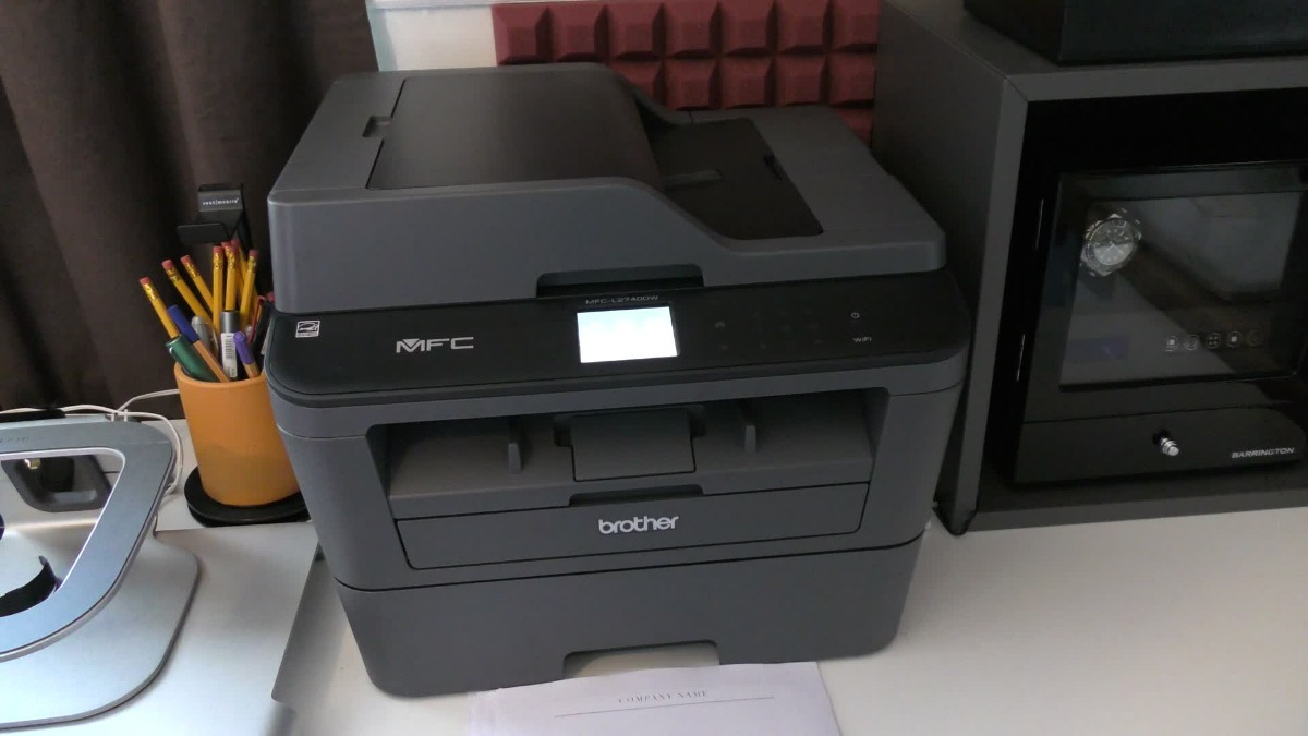 Multifuncional Brother Mfc-l2740dw Láser Wifi Airprint Negro