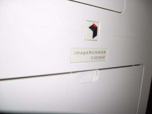 multifuncional canon irc 1028, copia imprime y escanea color