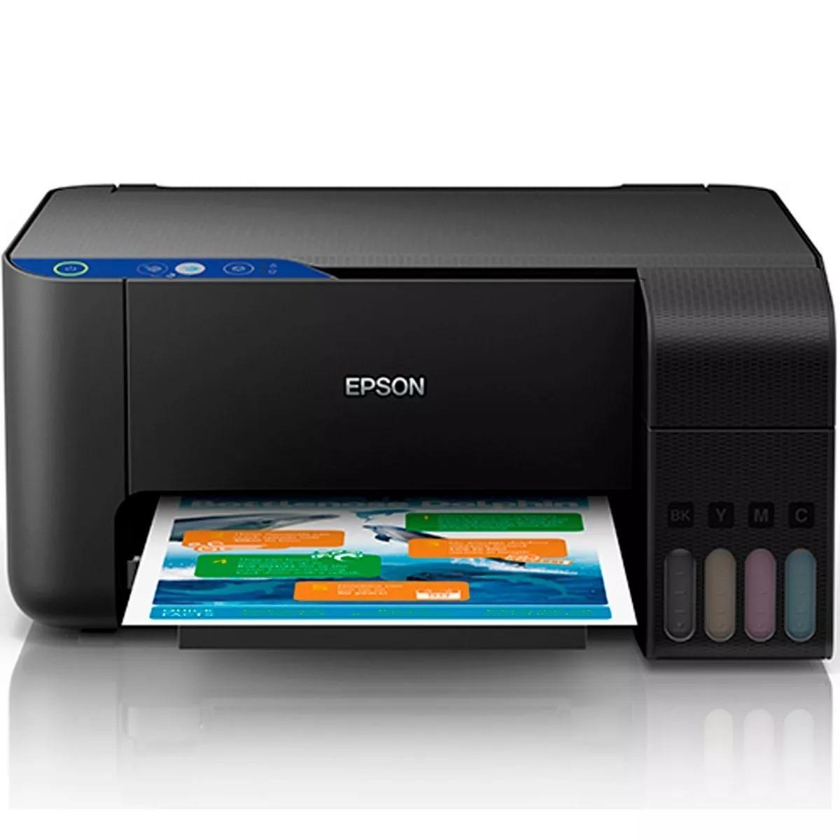 Multifuncional Epson L3110 Con Tinta Continua C11cg87301