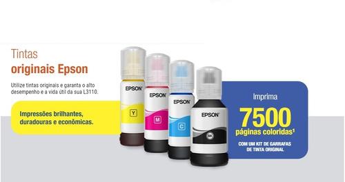 multifuncional epson l3110 ecotank usb copia scanner