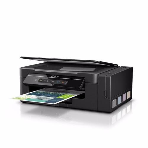 multifuncional epson l395 ecotank tinta continua wifi direct