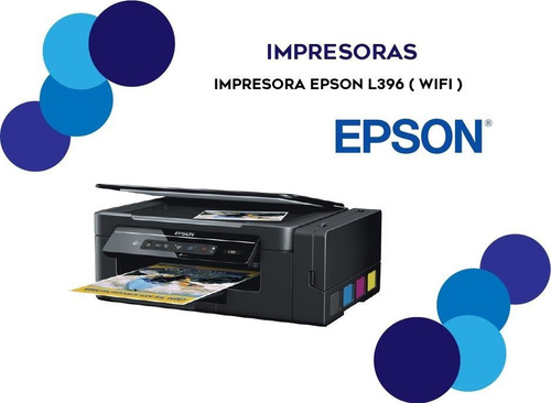 multifuncional epson l396 wifi direct lançamento 2019 usb