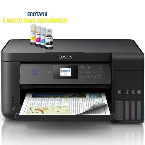 multifuncional epson l4160 ecotank wifi até 7.500 cópias