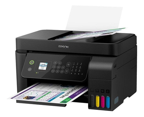 multifuncional epson l5190 ecotank colorida, wi-fi direct