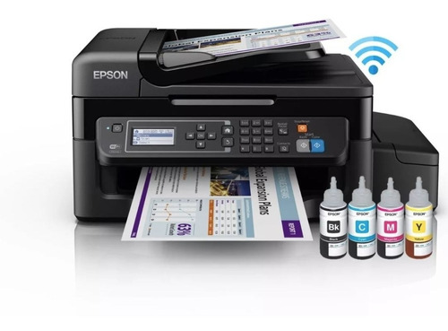 multifuncional epson l575 ecotank wifi adf tinta continua