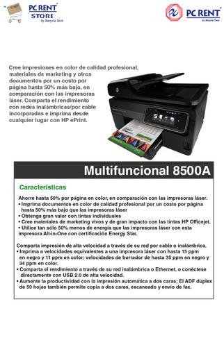 multifuncional hp 8500