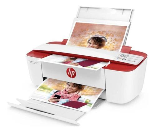 multifuncional hp deskjet ink advantage 3786, vermelha