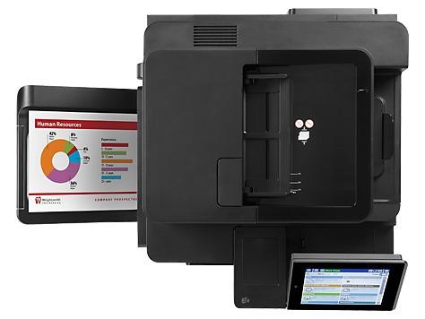 multifuncional hp laserjet color enterprise enterprise