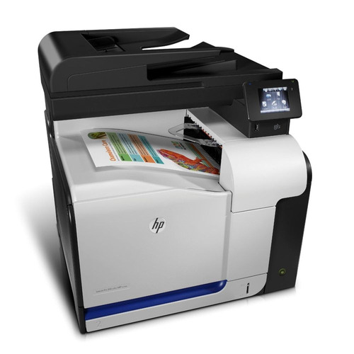 multifuncional hp laserjet pro 500 mfp m570dn color revisada