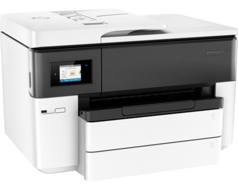 multifuncional hp officejet color 18 ppm wi-fi a3-7740 7740