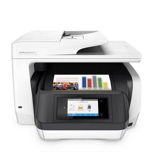 multifuncional hp officejet pro8720 inyeccion de tinta color