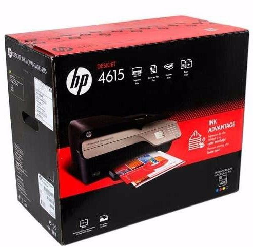 multifuncional hp4615 sistema continuo listo en tienda usb