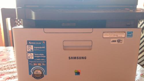 multifuncional laser color samsung c460fw