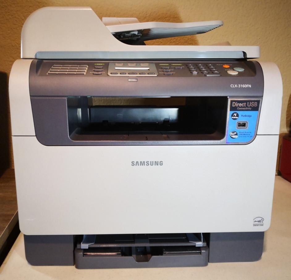SAMSUNG CLX-3160FN PRINTER DRIVER FOR WINDOWS