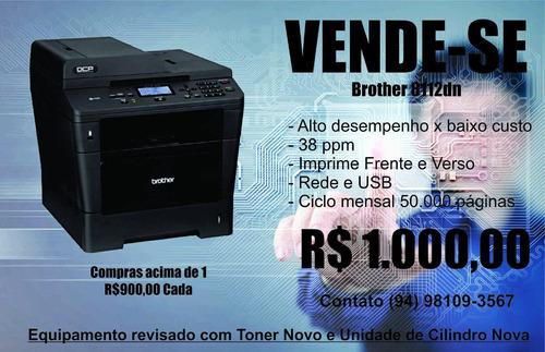 multifuncional laser . dcp-8112dn brother