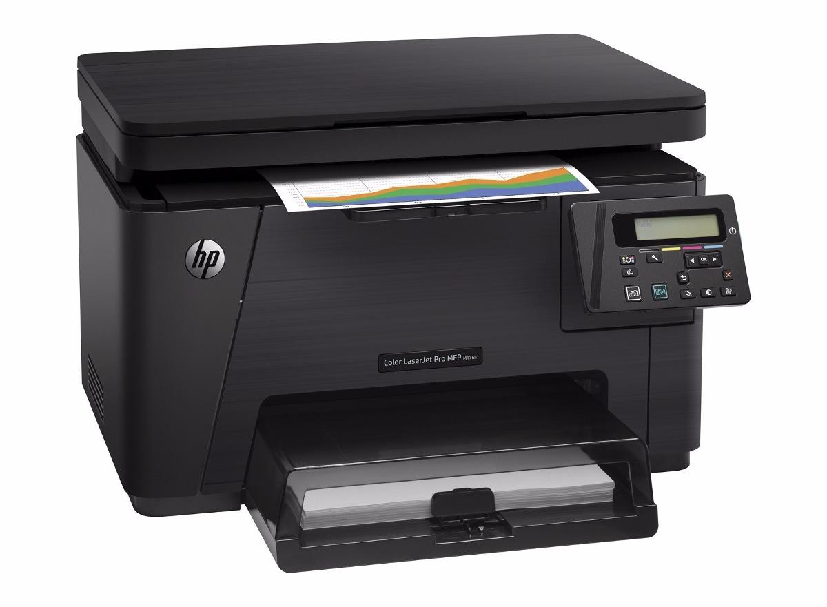Multifuncional Laser Jet Color Hp Pro M176n Toner