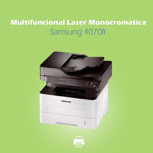 multifuncional laser monocromatica samsung 4070fr