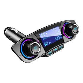 Multifuncional Led Display Veículo Mp3 Player Dual Usb Char