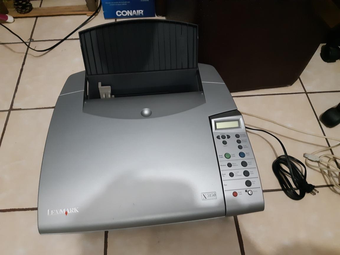 disco de instalacion de lexmark x5150