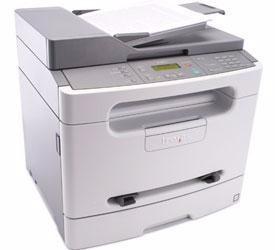 multifuncional lexmark x204n mil paginas impressas, seminova