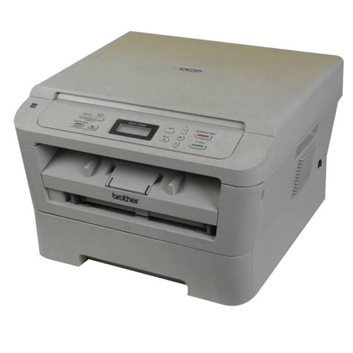 multifuncional monocromática  brother dcp-7055