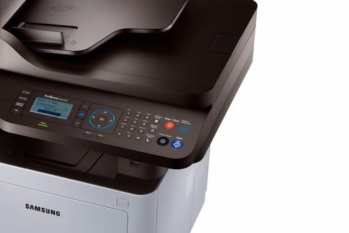 multifuncional samsung laser  m4072fd proxpress fax oficio