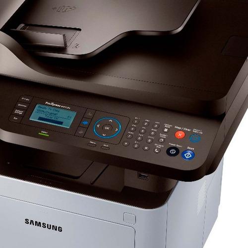 multifuncional samsung sl-m4072fd proxpress copiadora oficio