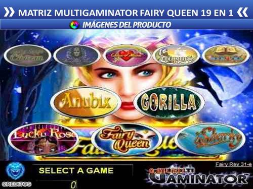 multigaminator fairy queen asesoria garantizada slotgame