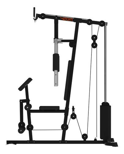 multigimnasio athletic 50kg reforzado optimizador espacio