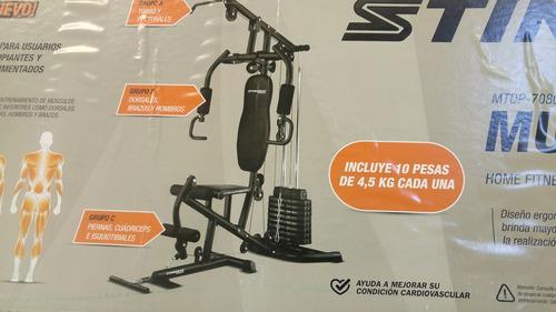 multigimnasio completo importado calidad gym centro ejercici