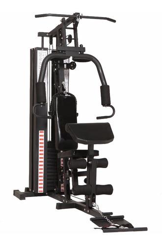 multigimnasio con scott y cuerda de triceps pesas 70kgs.