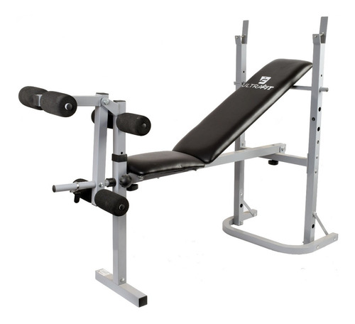 multigimnasio gym + barra + mancuernas + pesas discos 35 kg