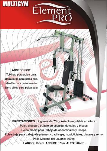 multigimnasio multi gym pro +75k maquinas banco envio gratis