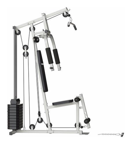 multigimnasio multigym incluye 50kg pesas reforzado completo