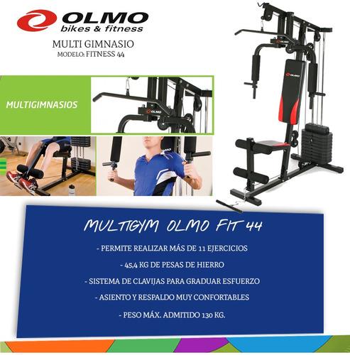multigimnasio olmo fit 44 - 45 kg - mandy hogar