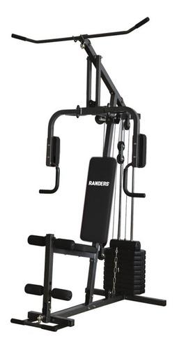 multigimnasio randers arg-63140 incluye pesas 50kg gym