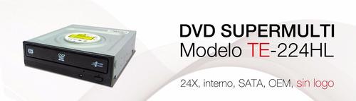 multigrabado dvd/cd teros 224hl  nuevo facturado